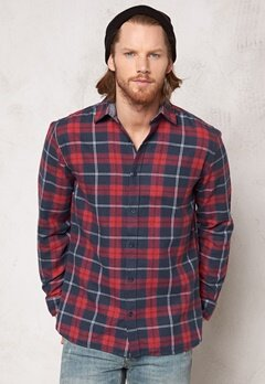 ONLY & SONS Fernardo LS shirt Raven Bubbleroom.se
