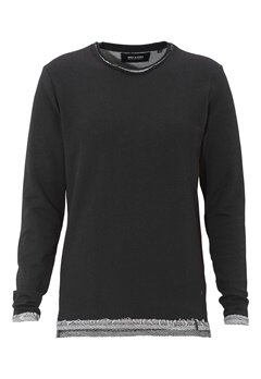 ONLY & SONS Frode Crew Neck Black Bubbleroom.se