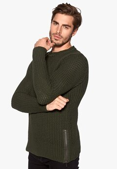ONLY & SONS Glenn sweater Forest Night Bubbleroom.se