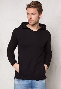 ONLY & SONS Harris Hoodie Black Bubbleroom.se