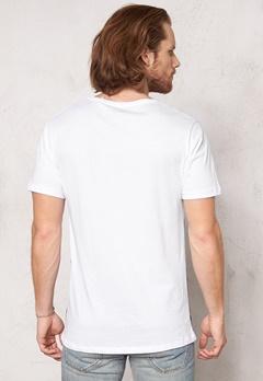 ONLY & SONS Jesper reg o-neck White+print Bubbleroom.se
