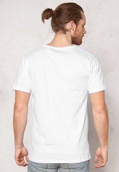 ONLY & SONS Jesper reg o-neck White Bubbleroom.se