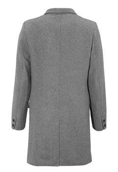 ONLY & SONS Julian Trench Medium Grey Melange Bubbleroom.se