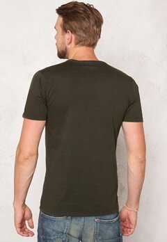 ONLY & SONS Kanta Organic Fitted Tee Forest Night Bubbleroom.se
