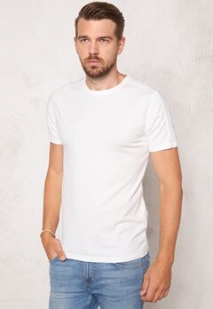 ONLY & SONS Kanta Organic Fitted Tee White Bubbleroom.se