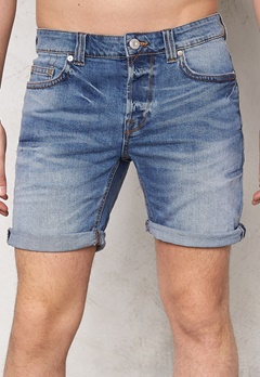 ONLY & SONS Loom Shorts 3345 Medium Blue Denim Bubbleroom.se