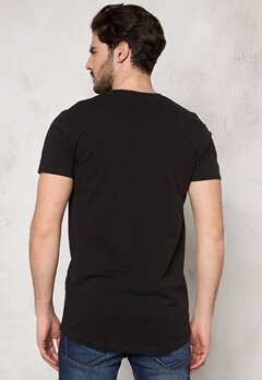 ONLY & SONS Mads Long O-Neck Tee Black Bubbleroom.se