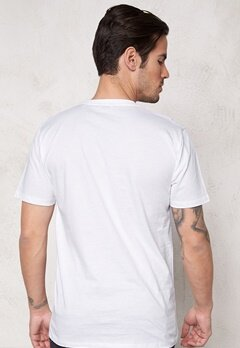 ONLY & SONS Maxus Reg O-neck White Bubbleroom.se