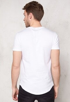 ONLY & SONS Meed Fish O-Neck White Bubbleroom.se
