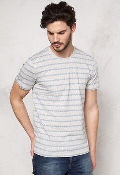 ONLY & SONS Mort Jaquard O-Neck Oatmeal Bubbleroom.se