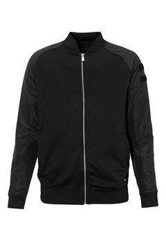 ONLY & SONS Olly nylon sleeve zip Black Bubbleroom.se