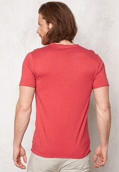 ONLY & SONS Salvatore O-Neck Cranberry Bubbleroom.se