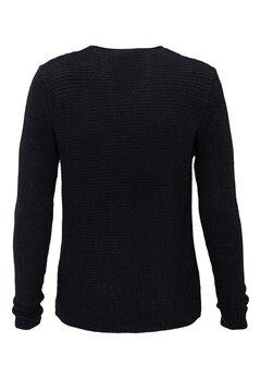 ONLY & SONS Sato Twist Knit Sweater Dark Navy Bubbleroom.se