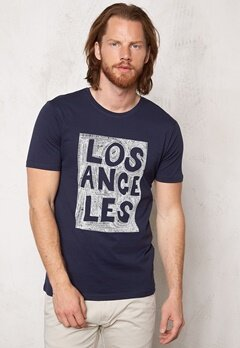 ONLY & SONS Sirius O-Neck Tee Mood Indigo Bubbleroom.se