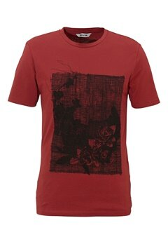 ONLY & SONS Skulls Fitted Tee Rosewood Bubbleroom.se