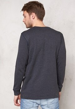 ONLY & SONS Zain Long Crew Neck Mood Indigo Bubbleroom.se