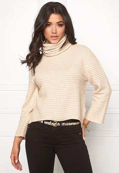 ONLY Texas L/S Rollneck Pumice Stone Bubbleroom.se