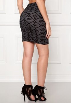 ONLY Viggy Skirt Ess Black Bubbleroom.se