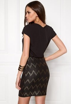 ONLY Ziva S/S Dress Black Bubbleroom.se
