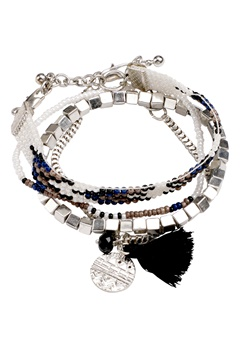 Pieces Pamila bracelet Silver Bubbleroom.se