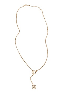 Pieces Paulina necklace Gold Bubbleroom.se