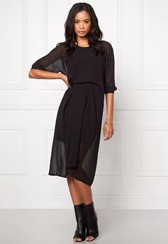 Make Way Pauline Dress Black Bubbleroom.se