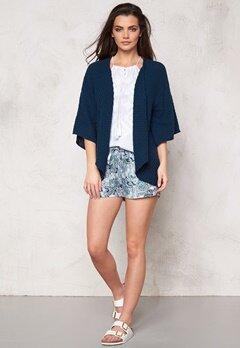 Make Way Phenix Kimono Cardigan Dark Blue Bubbleroom.se