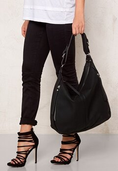 Pieces Britta Hobo Bag Black Bubbleroom.se