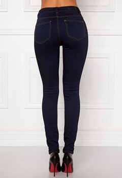 Pieces Just Jute R.M.W Leggings Dark Blue Denim Bubbleroom.se