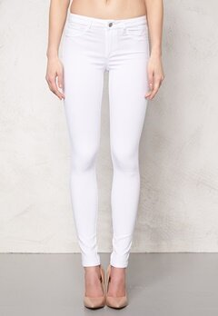 Pieces Just Wear R.M.W Leggings Bright White Bubbleroom.se