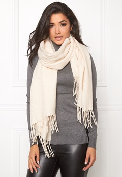 Pieces Kial Long Scarf Whitecap Gray Bubbleroom.se