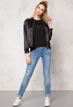 Pieces Unilla bomber jacket Black Bubbleroom.se