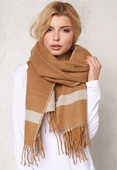 Pieces Vixen long scarf Chipmunk Bubbleroom.se