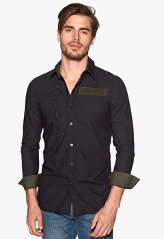 G-STAR Powel 3d Shirt 990 Black Bubbleroom.se