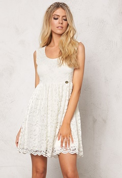 Chiara Forthi Principessa Dress Pearl White Bubbleroom.se