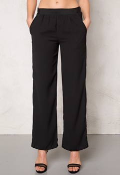 VILA Provide wide pants Black Bubbleroom.se