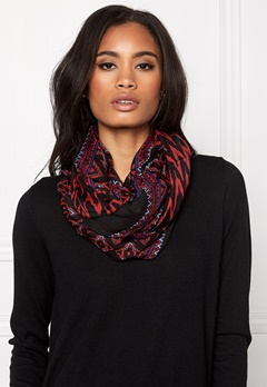 Pieces Puja Tube Scarf Black Bubbleroom.se