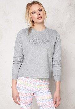 Röhnisch Anja Short Sweater Grey Melange Bubbleroom.se
