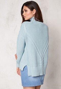 Make Way Raquel Sweater Light blue Bubbleroom.se