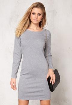 b.young Regine Dress Med. grey melange Bubbleroom.se
