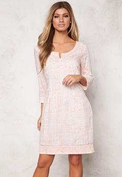 Chiara Forthi Riccia Modal Tunic Light Pink/Offwhite Bubbleroom.se