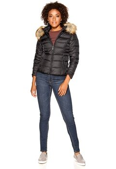 ROCKANDBLUE Shiver Easy Down Jacket Black Bubbleroom.se