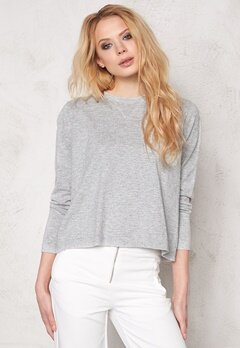 RODEBJER The New Sweater Grey Melange Bubbleroom.se