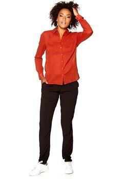 Rut & Circle Cornelia Shirt 456 Rustic Red Bubbleroom.se