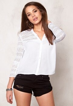Rut & Circle Deanna Blouse White Bubbleroom.se