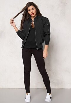 Rut & Circle Deede Bomber Jacket Black Bubbleroom.se