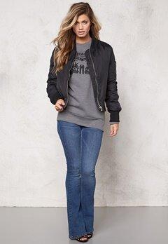 Rut & Circle Kate Bomber Jacket Black Bubbleroom.se