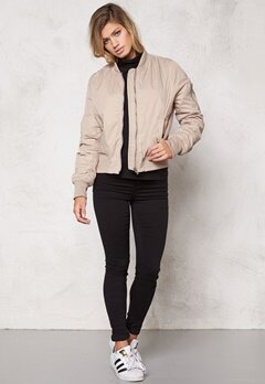 Rut & Circle Kate Bomber Jacket Dark Sand Bubbleroom.se