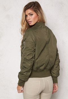 Rut & Circle Kate Bomber Jacket Vintage Green Bubbleroom.se