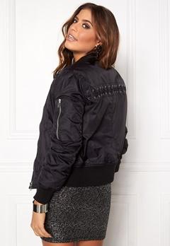 Rut & Circle Kate Lace Up Jacket 001 Black Bubbleroom.se